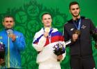 Strautmanis un Palameika izcīna Latvijai bronzas medaļas Eiropas spēlēs