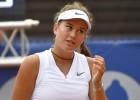Bartonei Jūrmalā zaudējums WTA dubultspēļu debijā