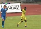 """Video: """"Ventspils"""" <i>sausā</i> apspēlē RFS"""