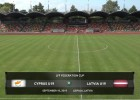 Video: Federācijas kauss futbolā U19 izlasēm. Kipra - Latvija. Spēles ieraksts