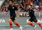 Horvāti izglābjas pēdējās sekundēs un U19 finālā Rīgā spēlēs pret spāņiem