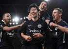 """""""Eintracht"""" uzvar Londonā, septiņu vārtu trilleris Malmē, """"Sporting"""" iesit četrus"""