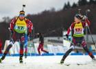 Bendika un Rastorgujevs ātri slēpošanā, tomēr katastrofālā šaušana atbīda uz ceturto vietu