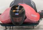 Martins Dukurs pēc pirmās dienas ceturtais, vācieši labo trases rekordu un dala pjedestālu