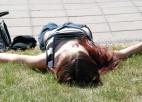 Foto: Ielu futbols 2. posms, 30. maijs - Esplanādes parks, Rīga