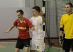 Foto: Ogres novada futzāla čempionātā aizvadītas 4. kārtas spēles