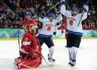 Somija uzvar čehus un iekļūst pusfinālā