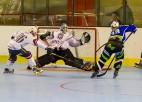 Latvijas inline hokejistiem sagrāve PČ 1. divīzijas pusfinālā