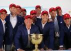 ASV golferi sesto reizi pēc kārtas uzvar Prezidenta kausā