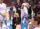 Treneru klīnika Belgradā olimpiskā kvalifikācijas turnīra laikā
