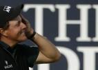 Mikelsonam trūkst milimetru golfa vēstures pārrakstīšanai