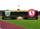Video: SynotTip futbola Virslīga: FK Liepāja - FK Spartaks Jūrmala. Spēles ieraksts