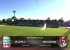 Video: UEFA Eiropas līga. FK Liepāja - Crusaders FC. Spēles ieraksts
