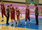 Latvija pret Lietuvu: cīņa par vietu pasaules universiādes finālā