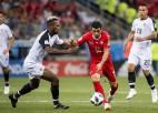 Arī Kostarika gūst vārtus, Šveice spēlē neizšķirti un nosargā otro vietu grupā