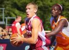 """Kuksiks un Strēlnieks kopā ar Miezi un Lasmani spēlēs """"Ghetto Basket"""""""