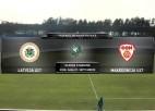 Video: Federācijas kauss futbolā: Latvija U17 - Maķedonija U17. Spēles ieraksts