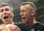 Pasaules vicečempione Horvātija aiz slēgtām durvīm pusfināla atkārtojumā uzņems angļus