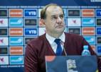 """Gruzijas treneris pirms spēles ar Latviju: """"Darīsim visu, lai tiktu tālāk"""""""