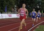 Serjogins Latvijas čempiona titulam maratonā pievieno arī zeltu pusmaratonā