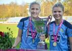 """Sieviešu futbola intrigas: dominējošo """"Rīgas FS"""" pamet vairākas spēlētājas"""