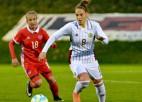 Futbolistes vēsturiskajā EČ kvalifikācijā tiksies ar olimpisko spēļu vicečempionēm