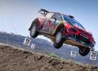 Ožjē ar veiksmes palīdzību saglabā vadību Meksikas WRC rallijā
