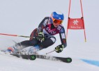Lelde Gasūna kļūst par Latvijas čempioni slalomā