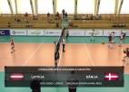 Video: Pārbaudes spēle volejbolā sievietēm: Latvija - Dānija. Spēles ieraksts