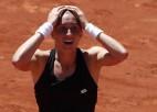 """Martiča pirmoreiz iekļūst """"Grand Slam"""" ceturtdaļfinālā, Stīvensa aptur Mugurusu"""