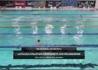 Video: Latvijas čempionāts 25m peldbaseinā - peldēšanas sacensības. Trešās dienas rīta sesijas ieraksts