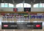 Video: Pārbaudes spēle telpu futbolā: Latvija U19 - Turcija U19. Spēles ieraksts