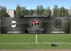 Video: Viensviens.lv Latvijas kausa futbolā astotdaļfināla spēle. JDFS ALBERTS - CARAMBA RĪGA. Spēles iekasts