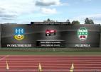 Video: FK Smiltene/BJSS - FK Liepāja Viensviens.lv Latvijas kausa futbolā astotdaļfināla spēle. Spēles ieraksts