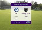 Video: Optibet futbola virslīga: RFS - Valmiera Glass VIA. Spēles ieraksts