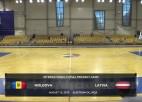 Video: Starptautisks U-19 telpu futbola turnīrs. MOLDOVA - LATVIJA. Spēles ieraksts