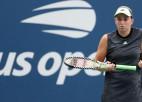"""Ostapenko ar 45 kļūdām piedzīvo sliktāko zaudējumu """"Grand Slam"""" karjerā"""