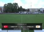 Video: Federācijas kauss futbolā U19 izlasēm: Turcija - Kipra. Spēles ieraksts