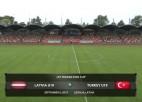 Video: Federācijas kauss futbolā U19 izlasēm. LATVIJA - TURCIJA. Spēles ieraksts.
