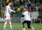Lietuvā fanam piespriež 30 eiro sodu par skriešanu laukumā pie Ronaldu