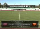 Video: Federācijas kauss futbolā U17 izlasēm: Latvija - Ziemeļmaķedonija. Spēles ieraksts