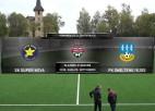 Video: SK Super Nova - FK Smiltene/BJSS komanda.lv 1.līga futbolā. Spēles ieraksts
