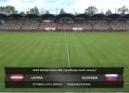 Video: Latvija - Slovākija UEFA EČ kvalifikācija sievietēm, spēles ieraksts