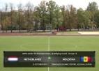 Video: UEFA EČ U19 kvalifikācija: Nīderlande - Moldova. Spēles ieraksts