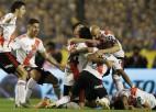 """""""River Plate"""" zaudē atbildes mačā, taču iekļūst """"Copa Libertadores"""" finālā"""