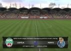 Video: UEFA jauniešu Čempionu līga: FK Liepāja - Porto FC. Spēles ieraksts