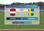 Video: Eiropas Nāciju kauss regbijā: Latvija - Zviedrija, spēles ieraksts