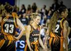 """Zībarts: """"Tā ir lielākā uzvara Latvijas sieviešu klubu basketbola vēsturē"""""""