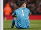 """""""Arsenal"""" piedzīvo fiasko pret Braitonu, paliekot bez uzvaras devīto reizi pēc kārtas"""
