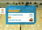 Video: Credit24 Meistarlīga volejbolā: RTU/Robežsardze - Tallinna Selver. Spēles ieraksts